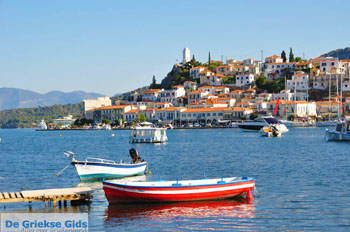 Poros vanaf Galatas gezien | Argolis Peloponessos | Griekenland | Foto 8 - Foto van De Griekse Gids